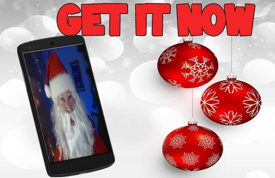 Santa Claus Fake Call FREE prank poster