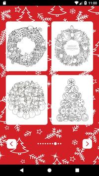Santa coloring game for kids - Xmas 2018 poster