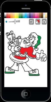 Santa Claus Coloring Pages poster
