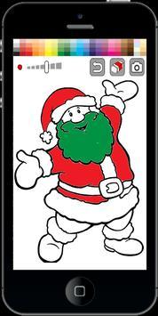Santa Claus Coloring Pages screenshot 2