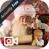 Video Call From Santa icon