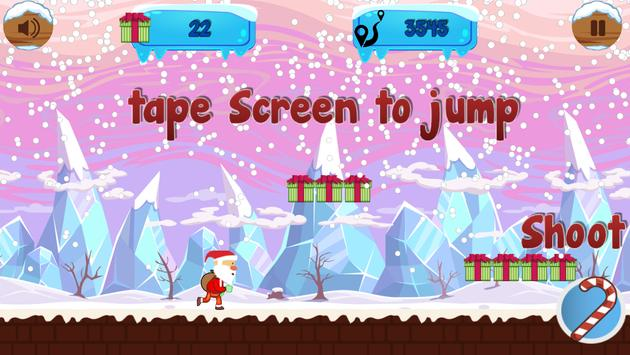 Run Santa Run apk screenshot