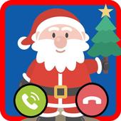 Santa Claus Fake Call  prank FREE icon