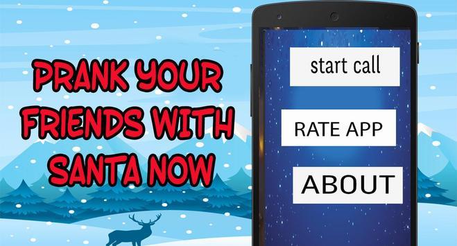 Santa Claus Fake Call  prank FREE screenshot 3