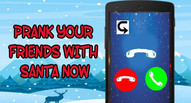 Santa Claus Fake Call  prank FREE screenshot 2