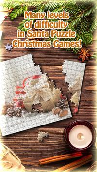 Santa Puzzle Christmas Games screenshot 1