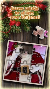 Santa Puzzle Christmas Games screenshot 2