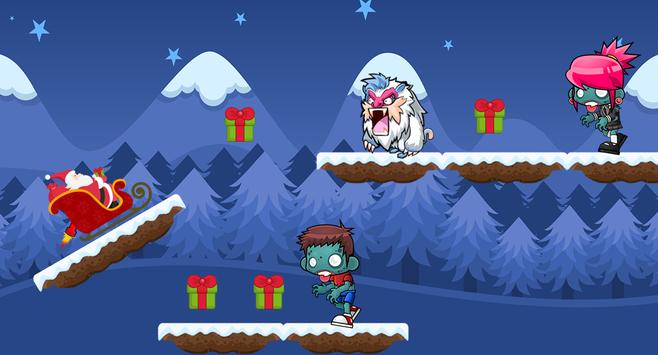 Santa claus cartoon game  🌟 ⛄ screenshot 4