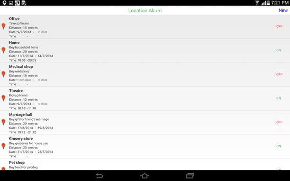 Location Reminder apk screenshot