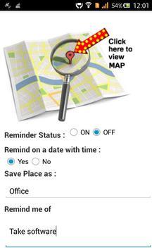 Location Reminder screenshot 3