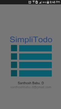 Simpli-Todo poster