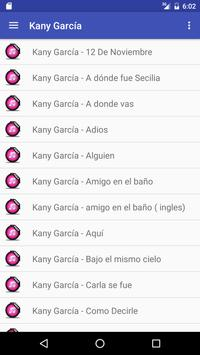 Letras de Kany García screenshot 1