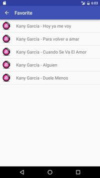 Letras de Kany García screenshot 2