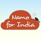 Namo for India icon