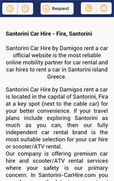 Santorini-carhire.com poster