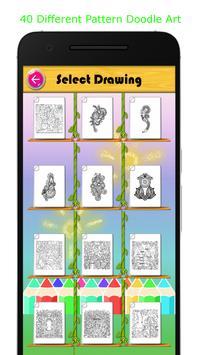 Doodle Art Coloring Book Free screenshot 2