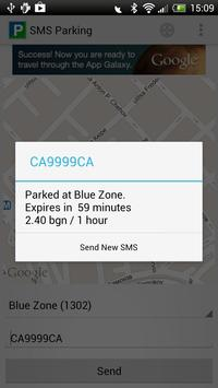 SMS Parking screenshot 1
