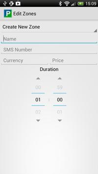 SMS Parking screenshot 2