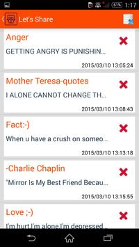 Let's Share apk screenshot