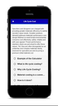 Sassda Life Cycle Costing (LCC) apk screenshot