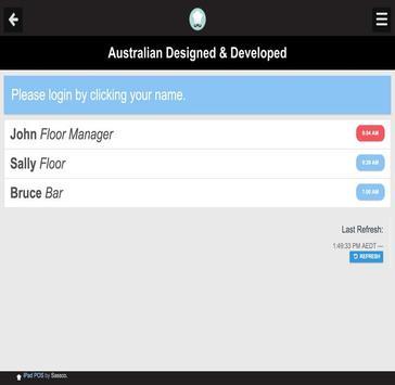 Waiter POS for Tablets apk screenshot