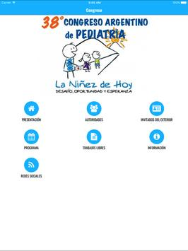 38° Congreso Arg. de Pediatría screenshot 3