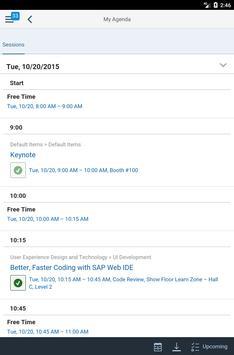 SAP Events apk screenshot