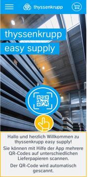 thyssenkrupp easy supply poster