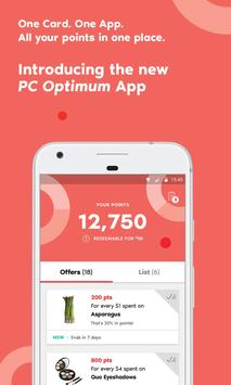 PC Optimum poster