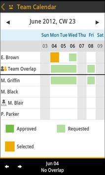 SAP Leave Request screenshot 2