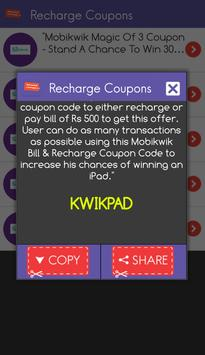 Recharge Coupons Free India screenshot 2