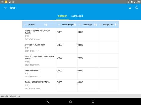 SAP Retail Execution V3.5 apk screenshot
