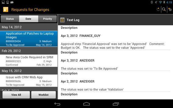 SAP IT Change Approval screenshot 10