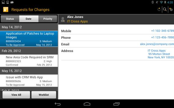SAP IT Change Approval screenshot 11
