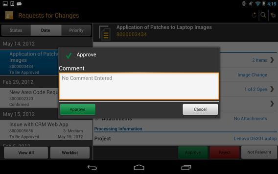 SAP IT Change Approval screenshot 12