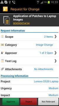 SAP IT Change Approval screenshot 1