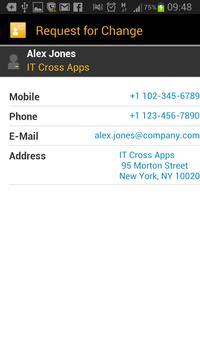 SAP IT Change Approval screenshot 3