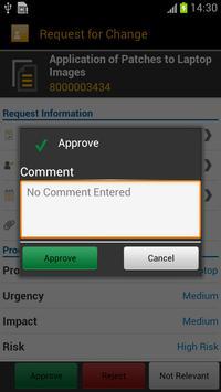 SAP IT Change Approval screenshot 4
