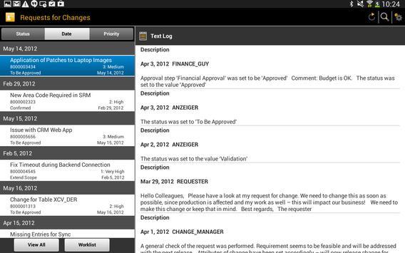 SAP IT Change Approval screenshot 6