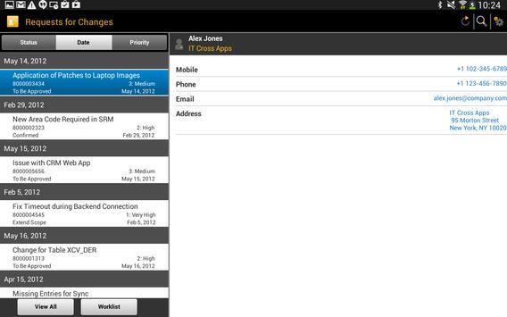 SAP IT Change Approval screenshot 7
