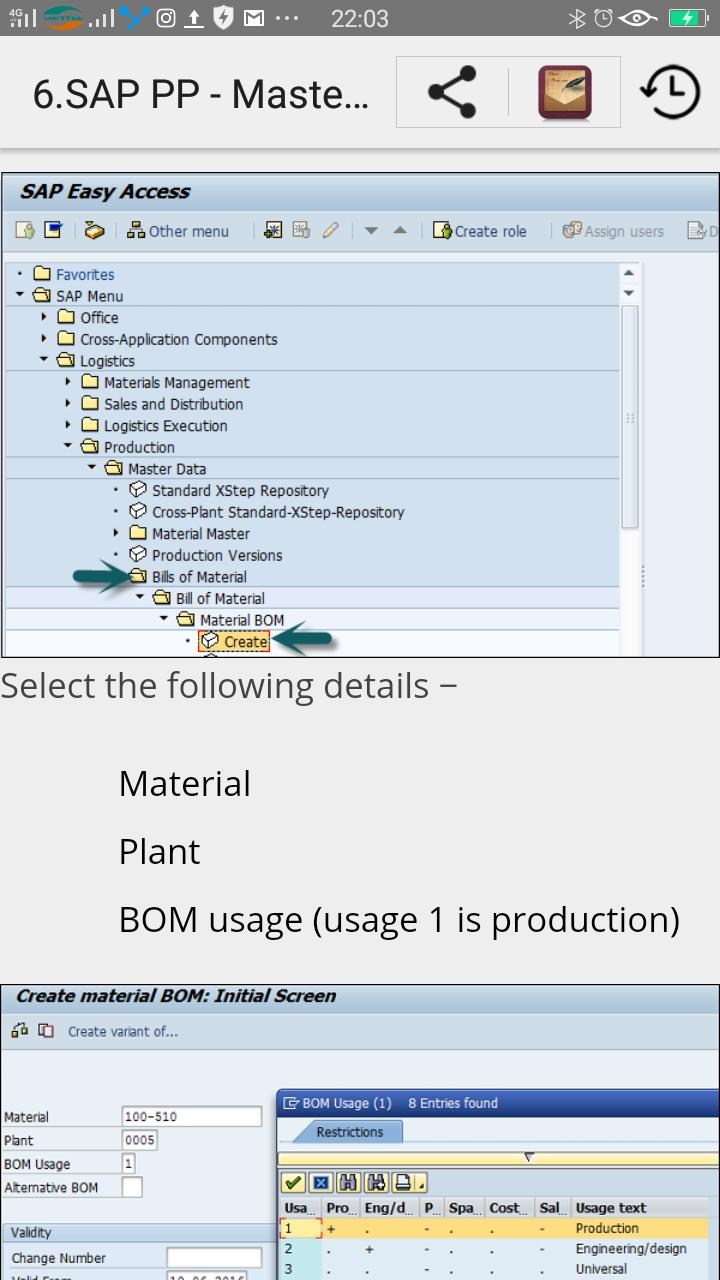 Learn SAP PP for Android - APK Download