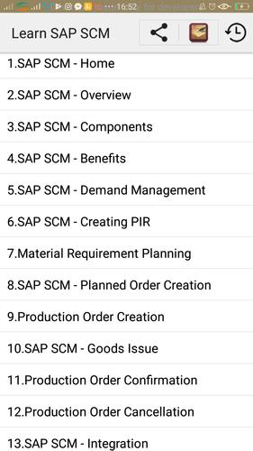 Learn SAP SCM for Android - APK Download