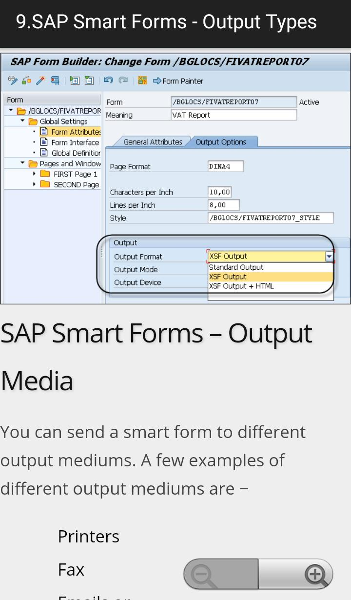 Learn SAP Smart Forms Full for Android - APK Download