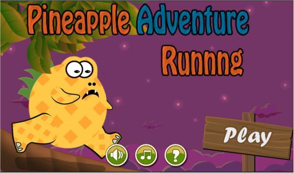 Pineapple Running Adventure screenshot 1