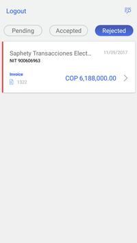 e-invoice screenshot 1