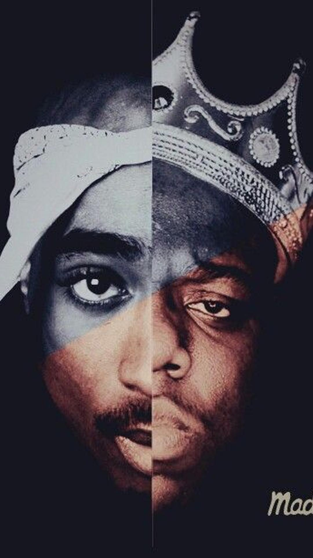 Tupac And Biggie Wallpaper And Lock Screen Hd For Android