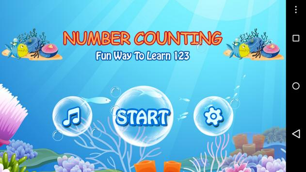 Number Counting poster