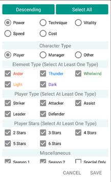 Mini Wiki for Soccer Spirits apk screenshot