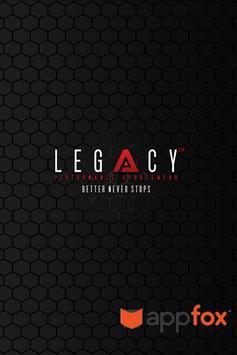 Legacy VIP poster