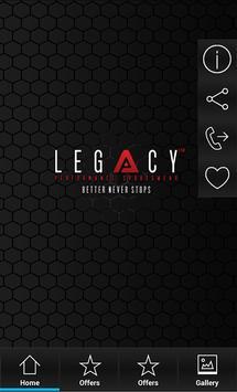 Legacy VIP screenshot 1